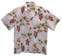 Hawaiian Shirt 49 White